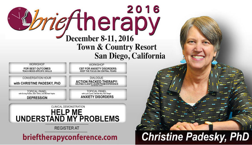 padesky at brief therapy conference 2016