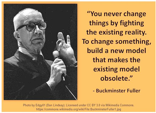 Buckminster Fuller Quote