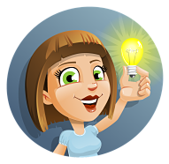 image of person holding a light bulb