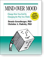 cover of mind over mood 1st edition