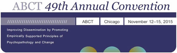 logo for ABCT 2015 convention