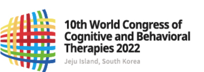 logo for the 2022 world congress in cognitive and behaviorial therapies in jeju island south korea