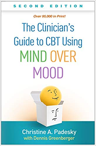 cover of the new clinician's guide to cbt using mind over mood