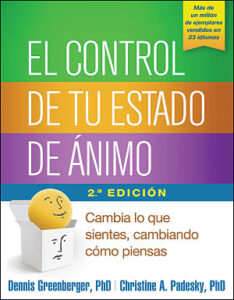 spanish edition of mind over mood book cover