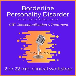 mp3 audio cover art for borderline personality disorder