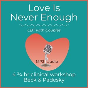 mp3 audio cover art for love is never enough. cbt with couples