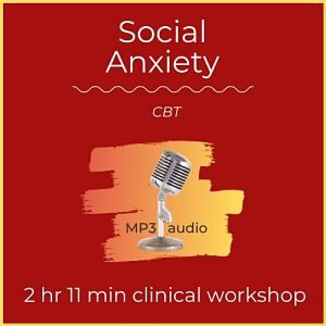 mp3 audio cover art for social anxiety