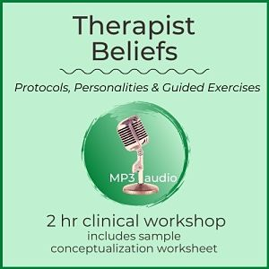 mp3 audio cover art for therapist beliefs