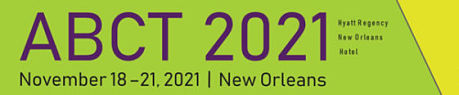 logo for ABCT 2021 convention