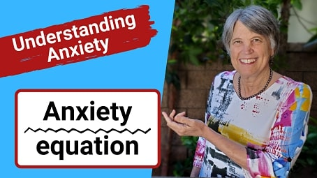 screen shot for understanding anxiety and the anxiety equation